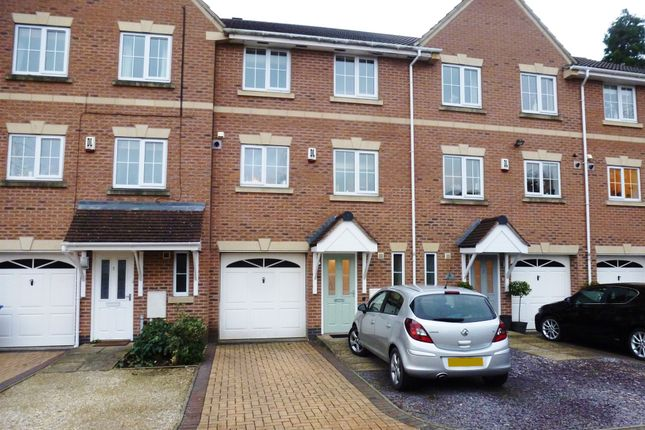 Thumbnail Town house for sale in Mews Court, Mickleover, Derby