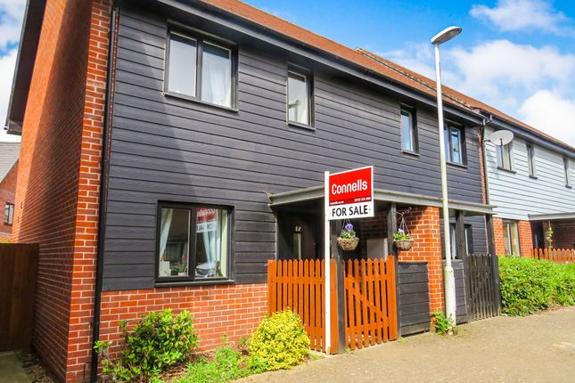 Thumbnail End terrace house for sale in Teddington Drive, Leybourne, West Malling
