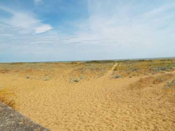 Beach of Jaywick, Clacton On Sea, Essex CO15