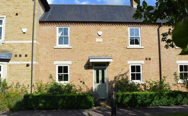 Thumbnail Terraced house to rent in Russell Walk, Fairfield, Hitchin, Herts