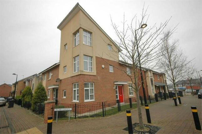 Thumbnail Town house to rent in Lynwood Way, Cleadon Vale, South Shields, Tyne And Wear