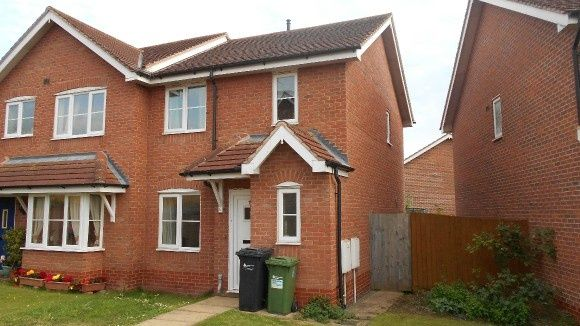 Thumbnail Semi-detached house to rent in Hill View Avenue, Withington, Hereford