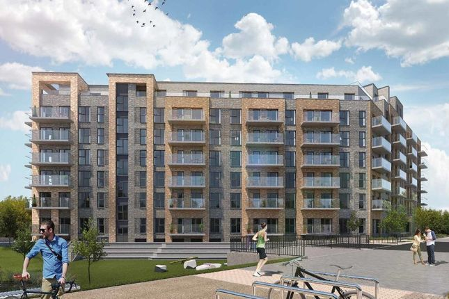Thumbnail 2 bed flat for sale in Langley Square, The Monarch, Mill Pond Road, Dartford, Kent