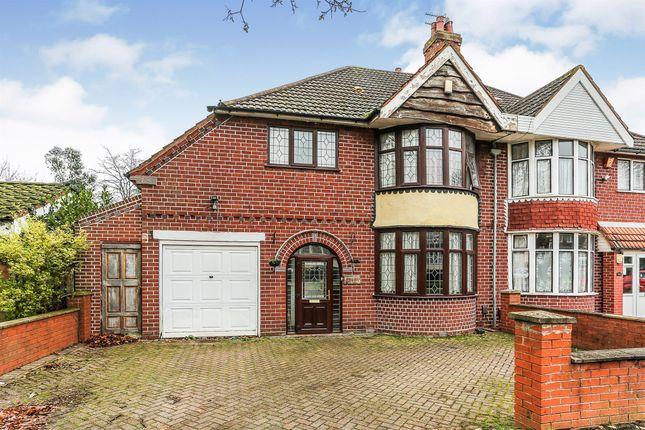 Thumbnail Semi-detached house for sale in Station Road, Stechford, Birmingham