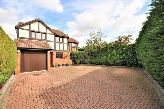 Thumbnail Detached house for sale in Fallowfield Close, Wesham, Preston, Lancashire