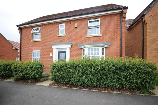 Thumbnail Detached house for sale in Laverick Grove, Highfield, Wigan