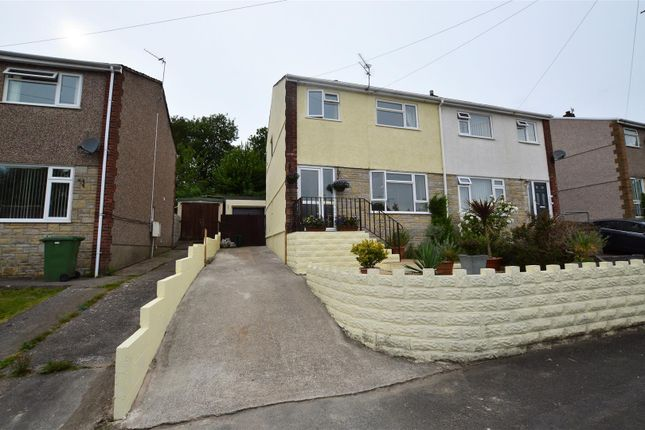 Thumbnail Semi-detached house for sale in Marlborough Close, Llantwit Fardre, Pontypridd