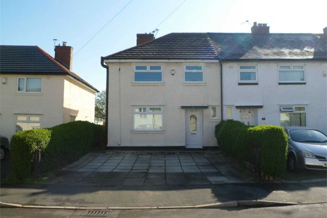 3 bed end terrace house to rent in Forwood Road, Bromborough, Wirral