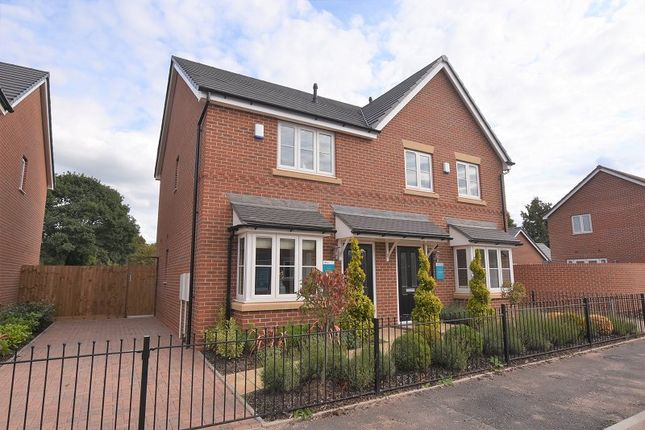 Semi-detached house for sale in The Pemberton, Meadow Bank, Off Gateway Avenue, Baldwins Gate, Newcastle