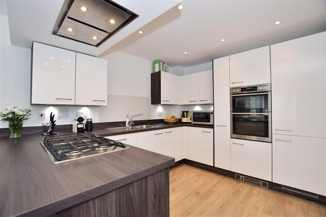 Thumbnail End terrace house for sale in Avion Gardens, Kings Hill, West Malling, Kent