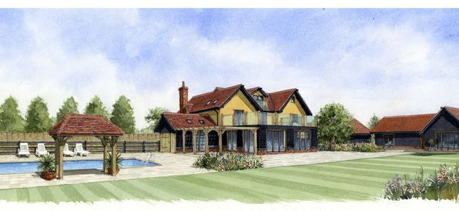 Thumbnail Farmhouse for sale in Bush Farm, Hall Road, Great Bromley, Colchester, Essex