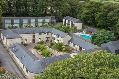 Thumbnail Leisure/hospitality for sale in Tresooth Holiday Barns, Penwarne Road, Mawnan Smith, Falmouth, Cornwall