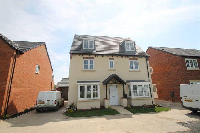 Thumbnail Detached house for sale in West Cross Lane, Mountsorrel, Loughborough