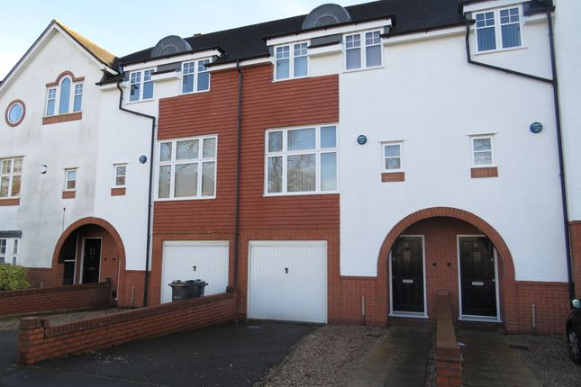 Thumbnail Town house for sale in Carisbrooke Road, Edgbaston, Birmingham