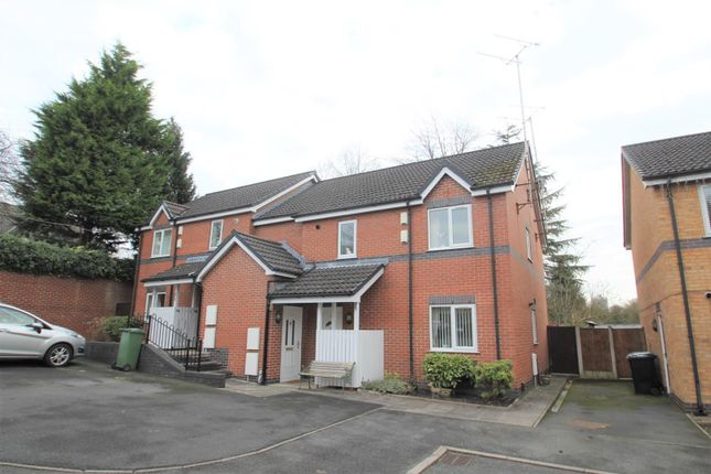 Thumbnail Flat for sale in Peter Wood Gardens, Stretford, Manchester