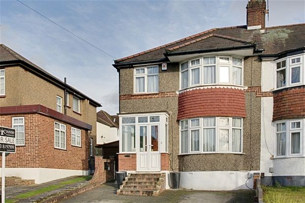 Thumbnail End terrace house for sale in Linden Way, London