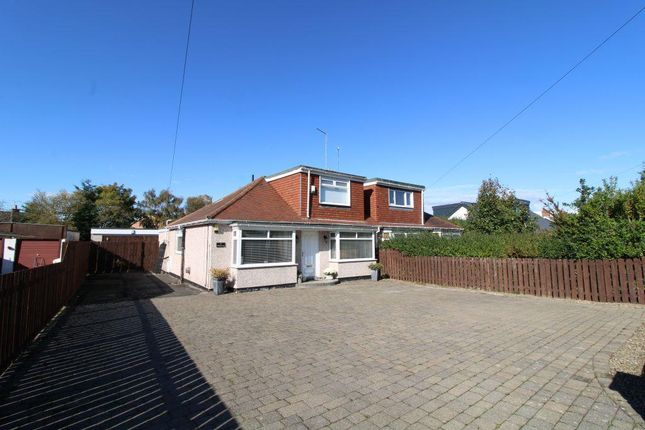 Thumbnail Semi-detached bungalow for sale in Callerton Lane, Ponteland, Newcastle Upon Tyne, Northumberland