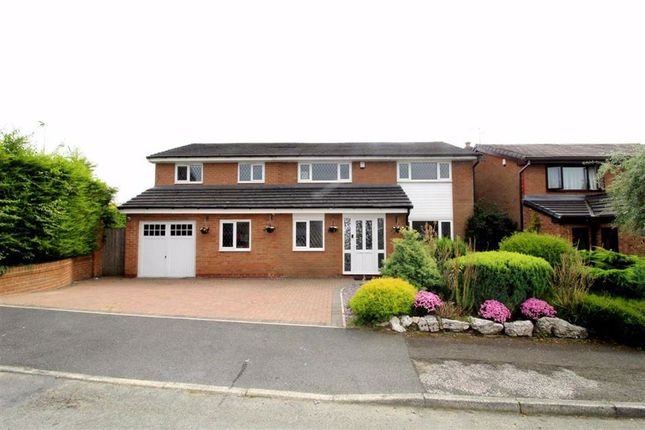 Detached house for sale in Hey Croft, Whitefield, Manchester