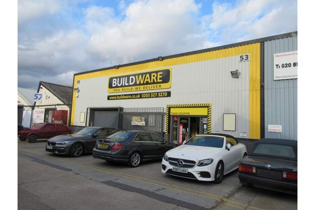 Thumbnail Light industrial to let in 53-55 Barking Industrial Park, Barking