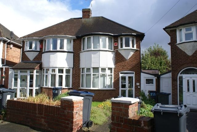 Thumbnail Semi-detached house to rent in Hollydale Road, Erdington, Three Bedroom Semi Detached