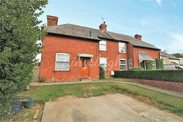 Thumbnail Semi-detached house for sale in Crownfields, Crown Street, Dedham, Colchester