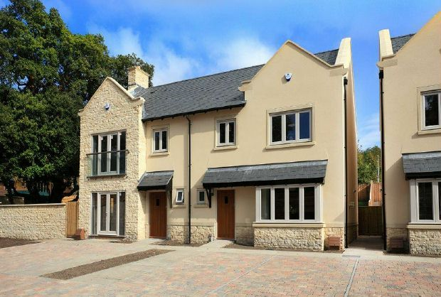 Thumbnail Semi-detached house for sale in Rudloe, Corsham, Wiltshire