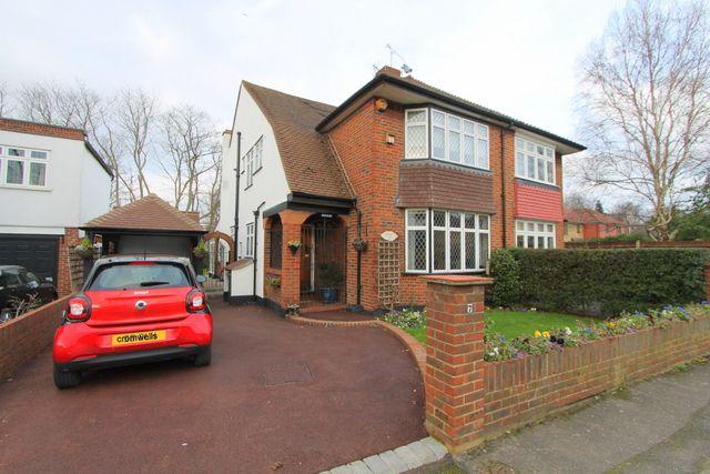 Thumbnail Semi-detached house for sale in Bampfylde Close, Wallington