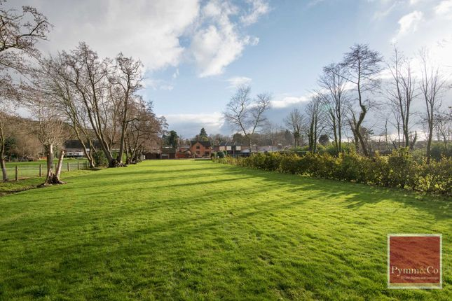 Thumbnail Detached house for sale in The Crescent, Taverham Road, Drayton, Norwich