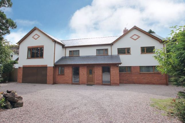 Thumbnail Detached house for sale in Hawkshead, Tower Road North, Heswall, Wirral