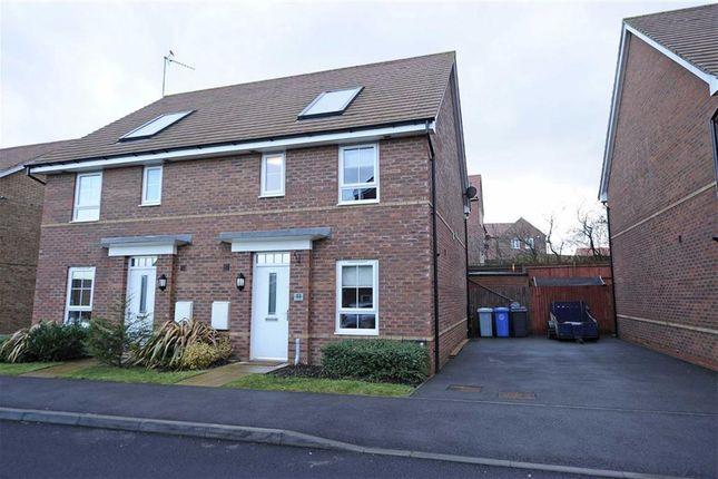Thumbnail Semi-detached house to rent in Donnington Road, Burton Latimer, Kettering