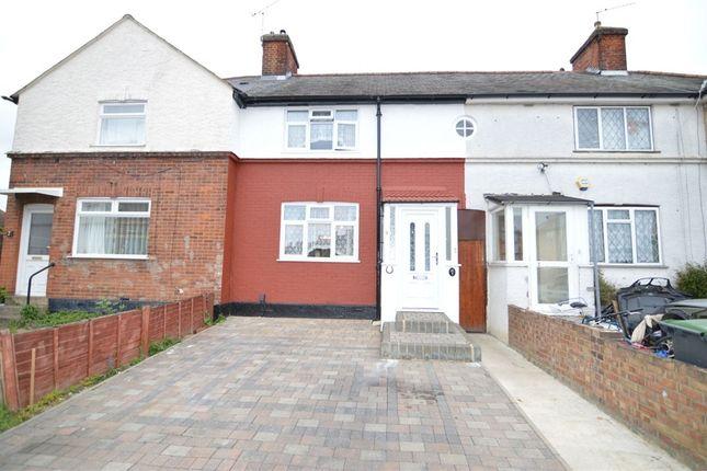 Thumbnail Terraced house for sale in Central Avenue, Enfield, Greater London