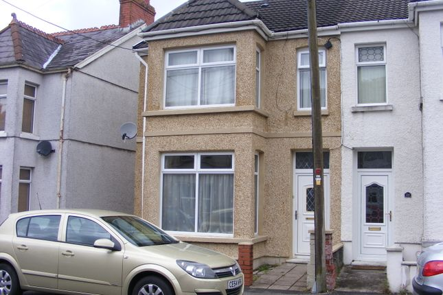 Thumbnail Semi-detached house to rent in Walters Road, Ammanford