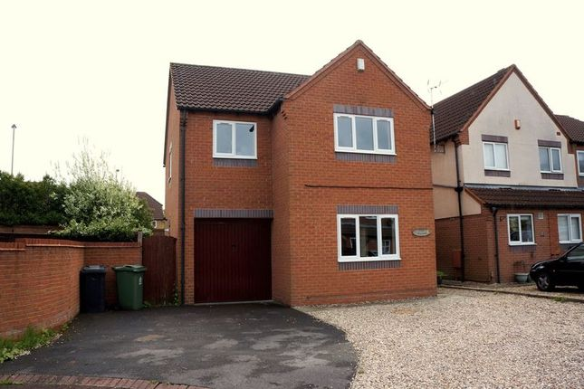 Thumbnail Detached house to rent in Pendock Close, Quedgeley, Gloucester