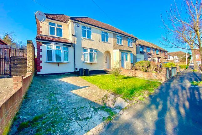 Thumbnail Semi-detached house for sale in Homeway, Harold Wood, Romford