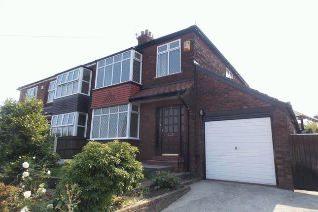 Thumbnail Semi-detached house to rent in Marlborough Road, Hyde