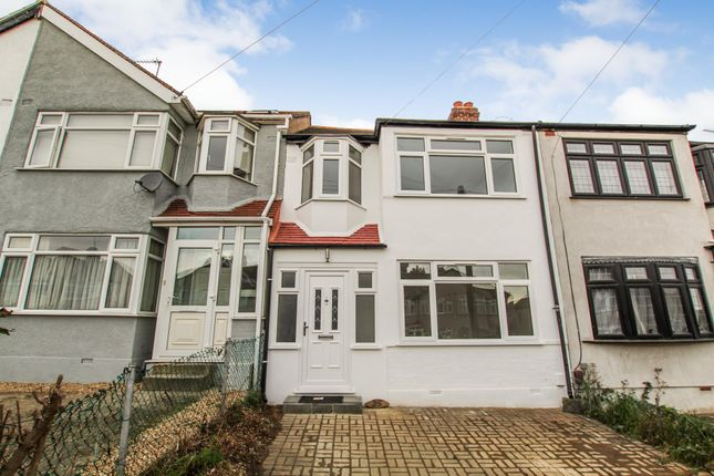 Thumbnail 3 bedroom terraced house to rent in The Drive, Collier Row, Romford