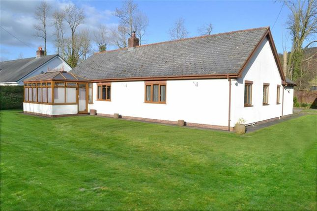 Thumbnail Bungalow for sale in Severn Oak, Llandinam, Powys