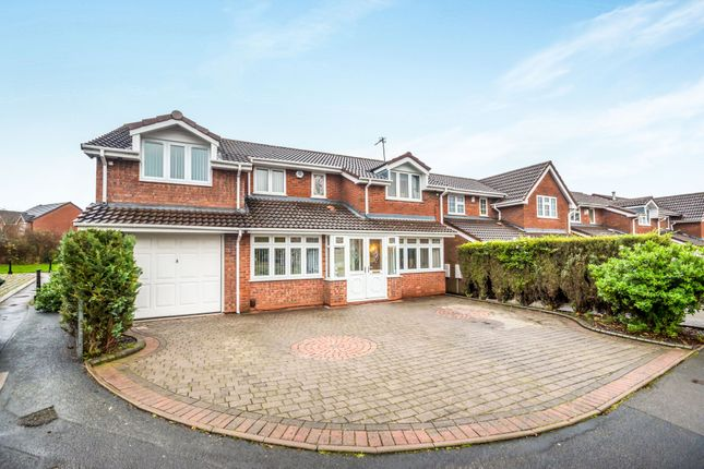 Thumbnail Detached house for sale in Buttermere Grove, Coppice Farm, Willenhall, West Midlands