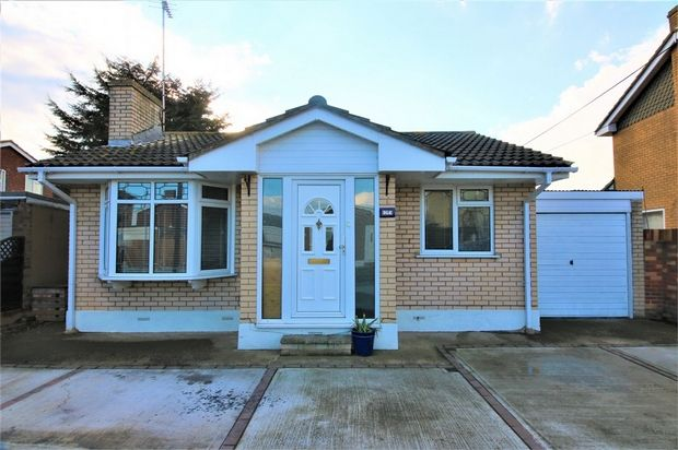 Thumbnail Detached bungalow for sale in Zealand Drive, Canvey Island, Essex