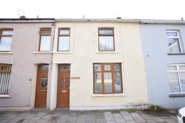 Thumbnail Terraced house for sale in Yew Street, Aberbargoed, Bargoed