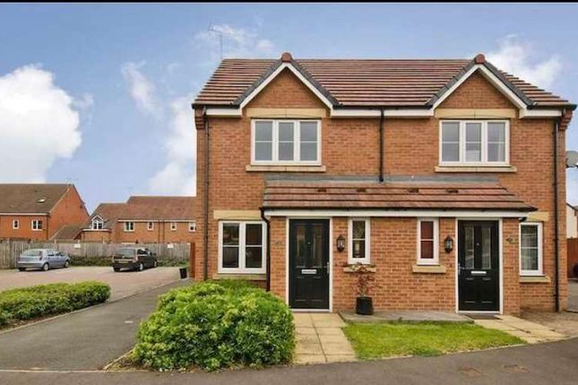Thumbnail Semi-detached house to rent in Violet Close, Huntington, Cannock
