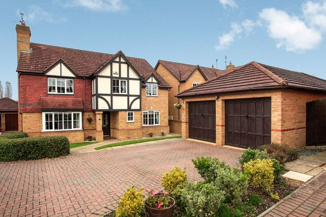 Thumbnail Detached house for sale in Gretton Close, Peterborough