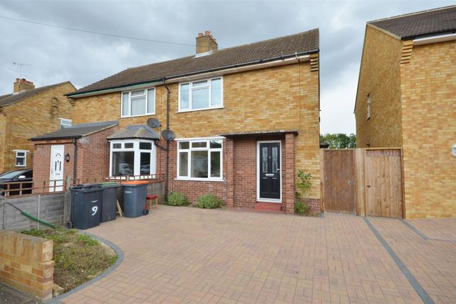 Thumbnail Semi-detached house to rent in Goodmayes Close, Bedford