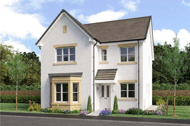 """Thumbnail 4 bed detached house for sale in """"Mitford"""" at Gilmerton Station Road, Edinburgh"""