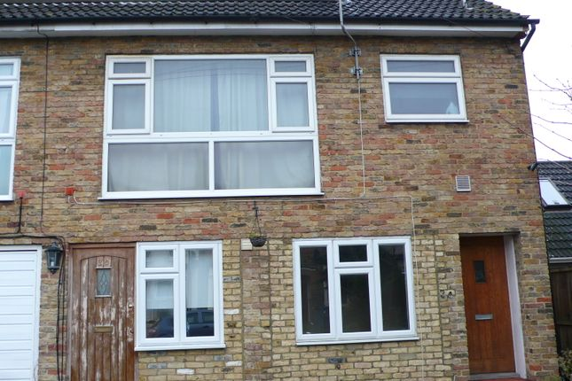Thumbnail End terrace house for sale in Salisbury Road, Enfield