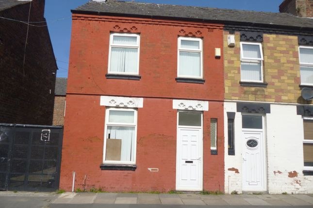 Thumbnail Terraced house to rent in Alpha Street, Bootle