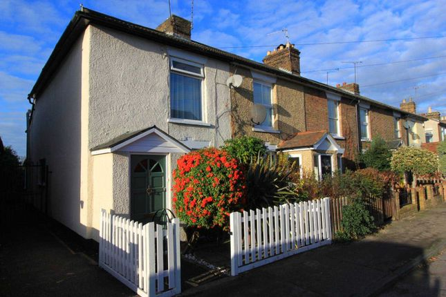 Thumbnail End terrace house for sale in Wellesley Road, Brentwood