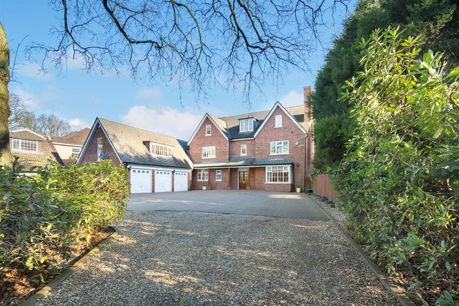 Thumbnail Detached house for sale in Roman Road, Little Aston Park, Sutton Coldfield