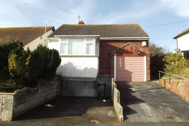 Thumbnail Bungalow to rent in Lower Drive, Dawlish