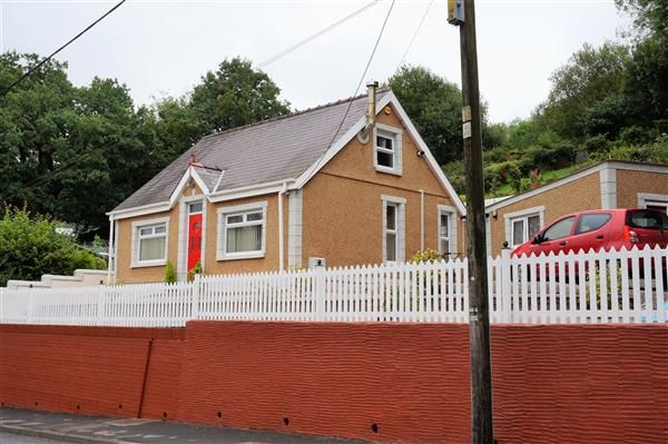 Thumbnail Detached bungalow for sale in Heol Capel Ifan, Pontyberem, Llanelli